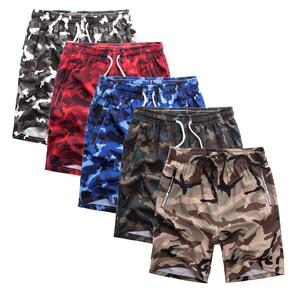 Image 4 - Pantalones cortos de camuflaje para hombre, bañador masculino de talla grande, 5 uds., 8XL, Bermudas, ropa de playa, 1299
