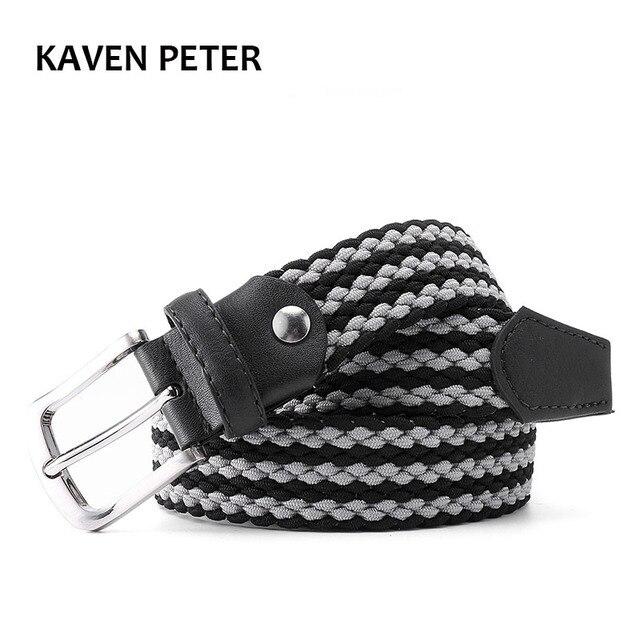 Cinturón elástico largo de moda para hombre 24ae735e5948