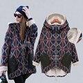 Женщины Осень И Зима Одежды Пальто Материнства Беременных Женщин Больших Размеров