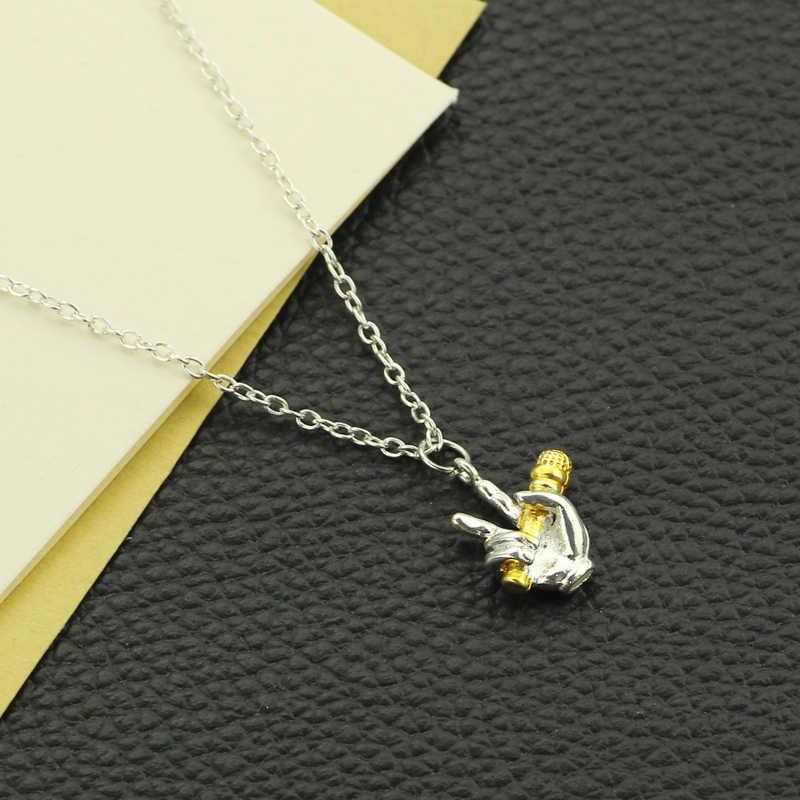 Микрофон массивное ожерелье в винтажном стиле панк чокер колье женские украшения Простые Летние ювелирные изделия мужские ожерелья