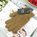 New Women Fashion Solid Thicken Warm Wool Knitted Gloves 2016 Hot Autumn And Winter Thermal Mittens Guantes Invierno 75AA620