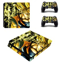 Dragon Ball Vinyl Decal Skin PS4 Slim Sticker for Sony Playstation 4 Slim Console and Controller Stickers