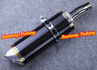 For yamaha 2006 2011 YZF R6 Exhaust Muffler Silencer Carbon Fiber + 304 Stainless Steel, High Quality Spare Parts