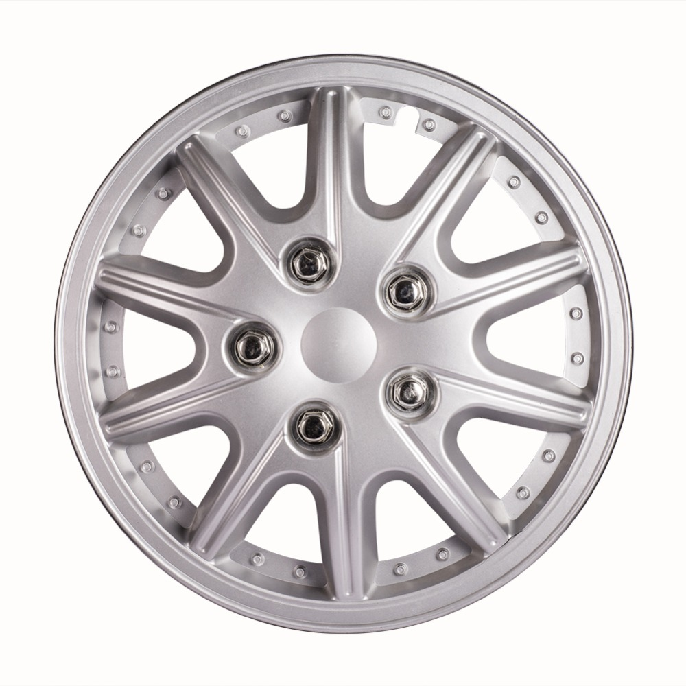 12 Inch Car Vehicle Chrome Wheel Rim Skin Cover Hub Trim Cover Hubcap Wheel cover cover co168 04 cover