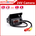 DC12 DC24V Car Parking Camera rearview IR Nightvision Waterproof Rear View Camera With 15M  RCA Video Cable Bus Truck Camera 24V