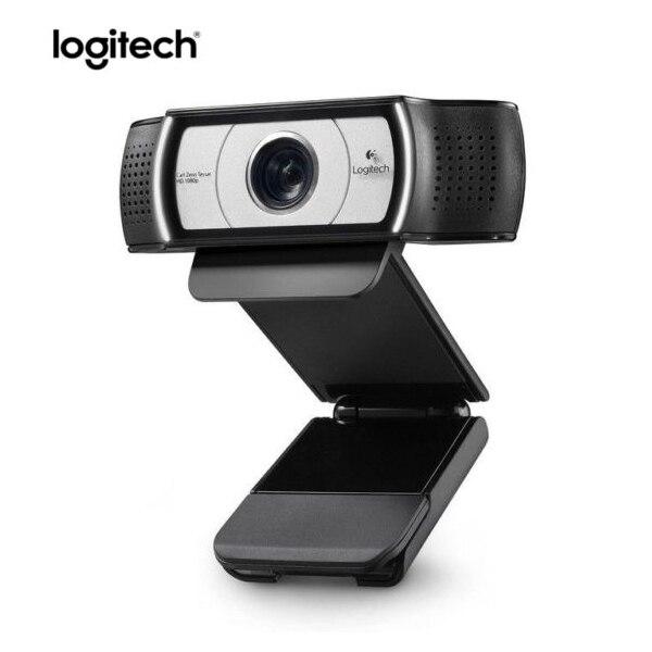 C930e Logitech HD 1080 P Vídeo câmera Web Webcam Para PC Loptop USB DDP ASOS com 4 Zoom Digital Em Tempo