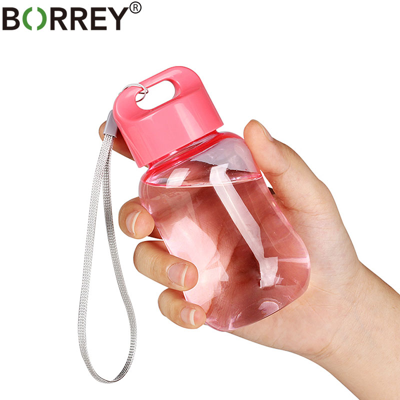 BORREY 180Ml Plastic Colorful Water Bottle Bpa Free Portable School Water Bottles For Children Kids Mini Cute Bottle For Water-in Water Bottles from Home & Garden on AliExpress