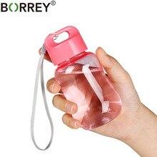 BORREY 180Ml Plastic Colorful Water Bottle Bpa Free Portable