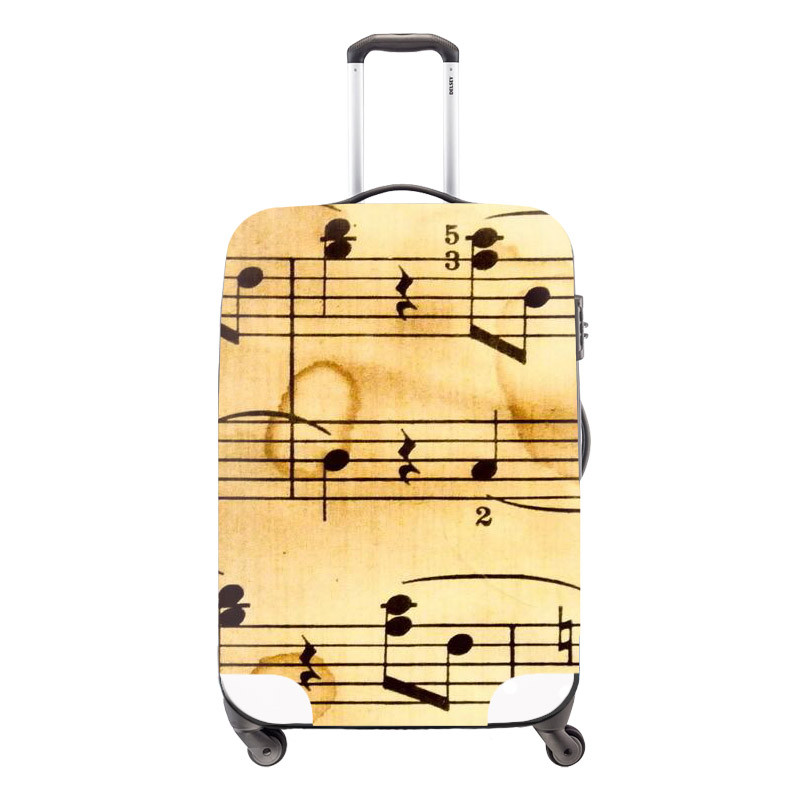 21 Animal Portable Elastic Travel Luggage Cover Crazy Horse Print Protect Luggage Cover For 18-30 Inch Suitcase Luggage Case Cover