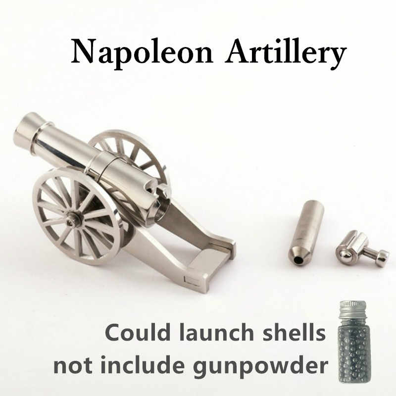 Detail Feedback Questions about Mini Napoleon Cannon Metal Naval
