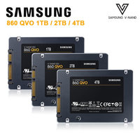 SAMSUNG 860 QVO 1TB 2TB 4TB SSD Solid State Hard Disk Laptop Solid State Disk 1T disco duro interno 2T 4T Dropshipping Disque
