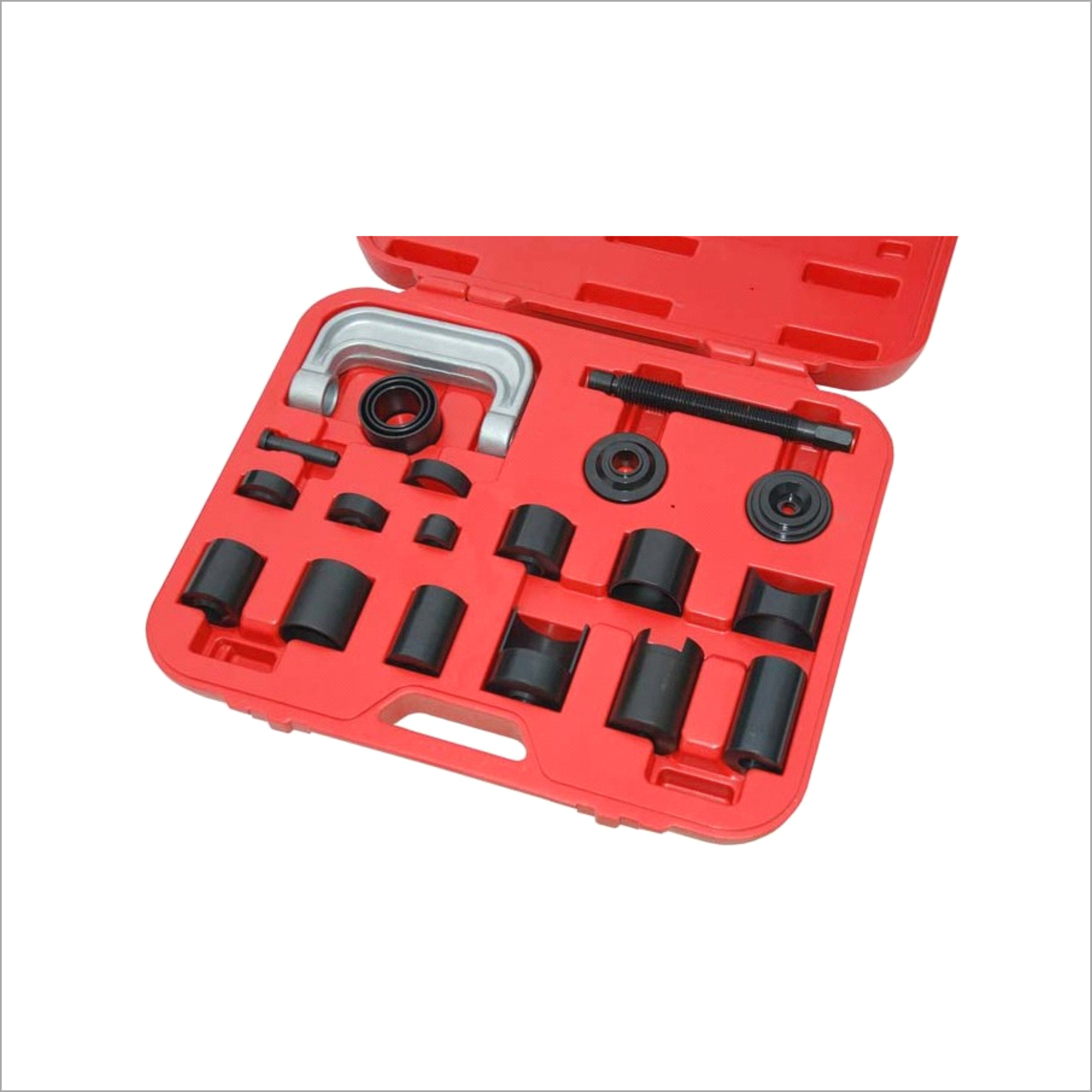 New 21 pcs Ball Joint Auto Repair Remover Install Adapter Tool Set Service Kit 4pcs new for ball uff bes m18mg noc80b s04g