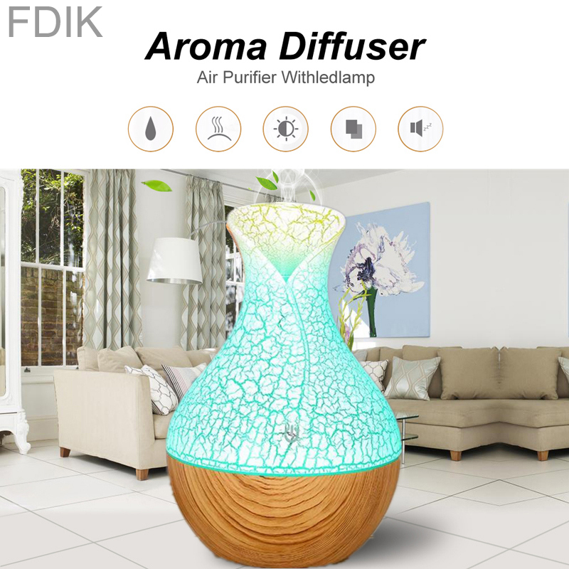USB Ultrasonic Humidifier Air Purifier Essential Oil Aroma Diffuser Spa Cold Mist Purifier Color LED Light Night Office Home CarUSB Ultrasonic Humidifier Air Purifier Essential Oil Aroma Diffuser Spa Cold Mist Purifier Color LED Light Night Office Home Car