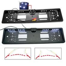 CCD 600 линейная динамическая траекторная камера, Соединенные Штаты, Мексика, Канада и Европа, рамка для номерного знака, камера для парковки заднего вида