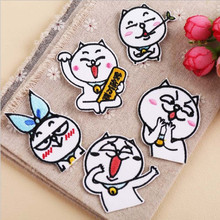 Wacky Expressions Embroidery Patch for Clothing Iron On Embroidered Sew Fabric Badge Garment DIY Apparel Applique Accessories round natural embroidery patch for clothing iron on embroidered fabric badge motif garment diy apparel applique accessories