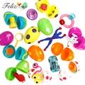 12 juguetes de huevos de Pascua huevos sorpresa Medida 2 pulgadas genial para huevos de Pascua caza de Pascua partido favores suministros Piñata regalos