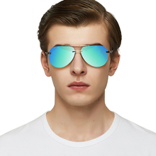 RBEWTP Classic Alloy Frame Driver Men Sunglasses Polarized Coating Mirror Frame Eyewear aviation Sun Glasses For Women A143