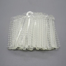 1 Pack 40Pcs Clear Dental Orthodontic Elastic Ligature Ties For Teeth Tools