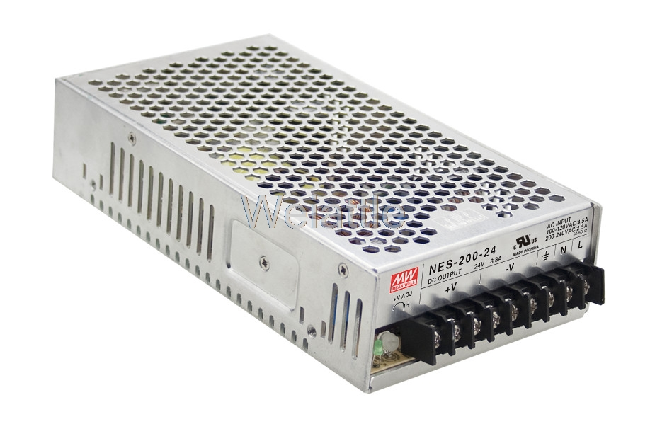 MEAN WELL original NES-200-7.5 7.5V 27A meanwell NES-200 7.5V 202.5W Single Output Switching Power Supply original mean well 200w single output switching power supply nes 200