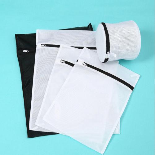 Laundry Washing Mesh Net Zipped  Underwear Bra Socks Clothes Wash Bag