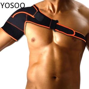 Yosoo Shoulder Support Brace Left/Right Shoulder Bandage Brace Dislocation Arthritis Joint Pain Relief Injury Protector Shoulder
