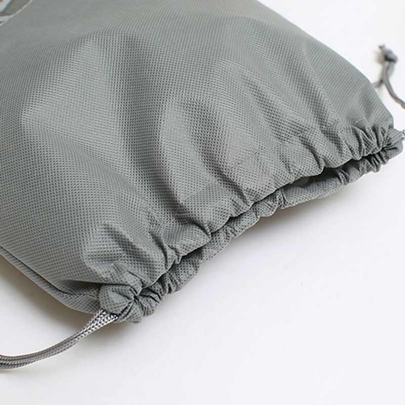 Yeni su geçirmez ayakkabı torbası çantası depolama seyahat çantası olmayan-dokuma çamaşır Organizador taşınabilir Tote İpli çanta düzenleyici kapak