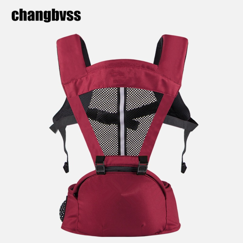 Super Breathable 0 36 Months Baby Carrying Belt For Summer Quality Baby Wrap Backpacks Portable Infant Hipseat mochilas infantil