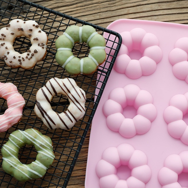 DIY Donuts Silicone Tray Mold