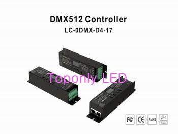 2017 새로운 디자인 dc12/24 v dmx led 컨트롤러 dmx512 (1990) 프로토콜 디코더에 적용 35 모델 및 256 등급 디밍 100 pcs