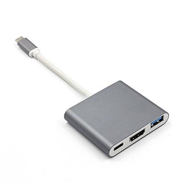 Moable USB C HUB a HDMI per Macbook Pro/Air Thunderbolt 3 USB tipo C Dock Adapter supporto Samsung Dex mode con PD USB 3.0 3