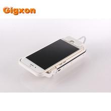Gigxon-I60 70 lumens DLPธนาคารอำนาจ3000มิลลิแอมป์ชั่วโมง120นาทีHDMI USBโทรศัพท์มือถือโปรเจ็กเตอร์หุ่นยนต์โฮมเธียเตอร์bussiness projetor