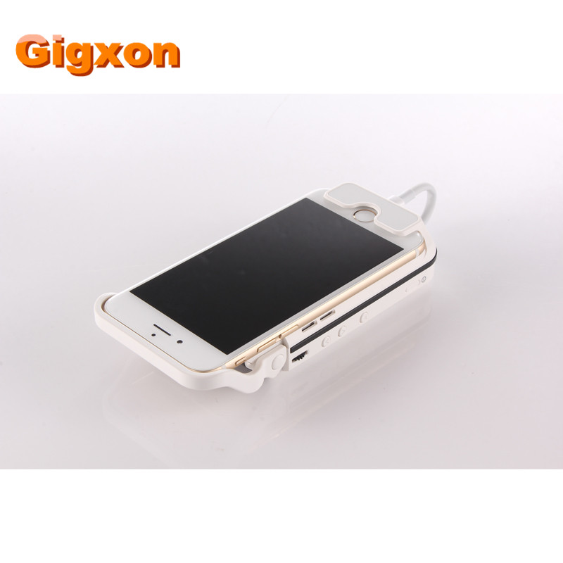 Gigxon - I60 70 lumens DLP power bank 3000mAh 120min HDMI USB Mobile Phone Projector Android home theater bussiness projetor