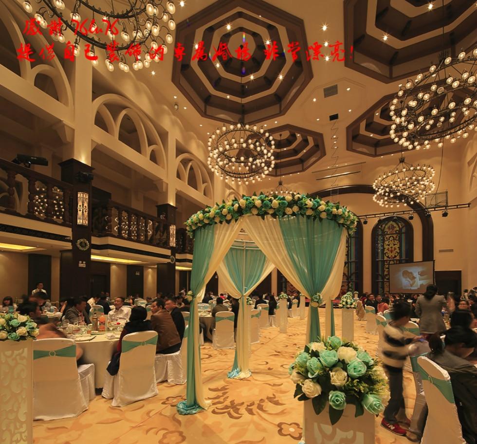 Popular artificial centerpiece buy cheap artificial centerpiece free shipping10pcslot wedding road lead artificial flower ball wedding dhlflorist Images