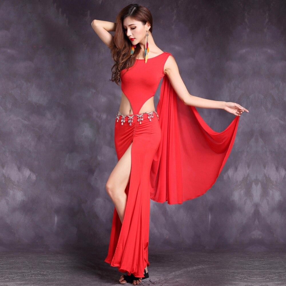 ≧Barato Latino traje de baile para damas rojo/verde/púrpura/Rosa ...