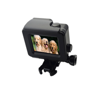 1 Pcs Top Quality For Gopro Accessories Black Color Waterproof Housing Case For GoPro Hero 4