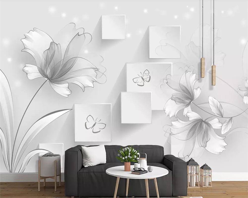 Home Improvement Wallpapers Professional Sale Beibehang Clothing Store Wallpaper Night Bar Personalized Mosaic Decoration Ceiling Fresco Wallpaper Wall Paper Papel De Parede Pure White And Translucent