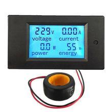 AC 80-260V lcd цифровой 100A вольт ватт измеритель мощности Амперметр Вольтметр 110V 220V измеритель напряжения