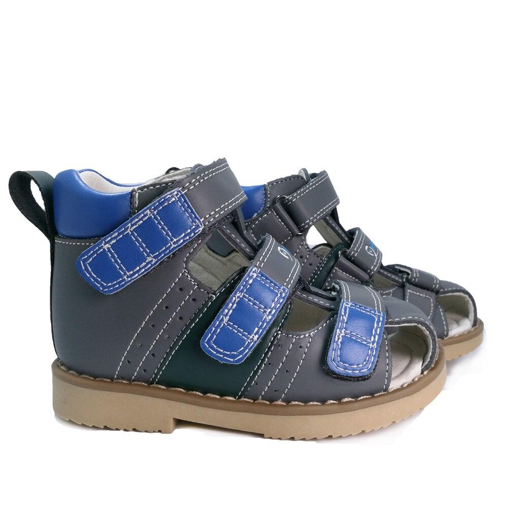 c9d4685b4fa ... menino sandália de couro genuíno sapatos crianças calçado ortopédico  para as crianças da criança sandália de couro sapatos de verão Barato Online  Preço.