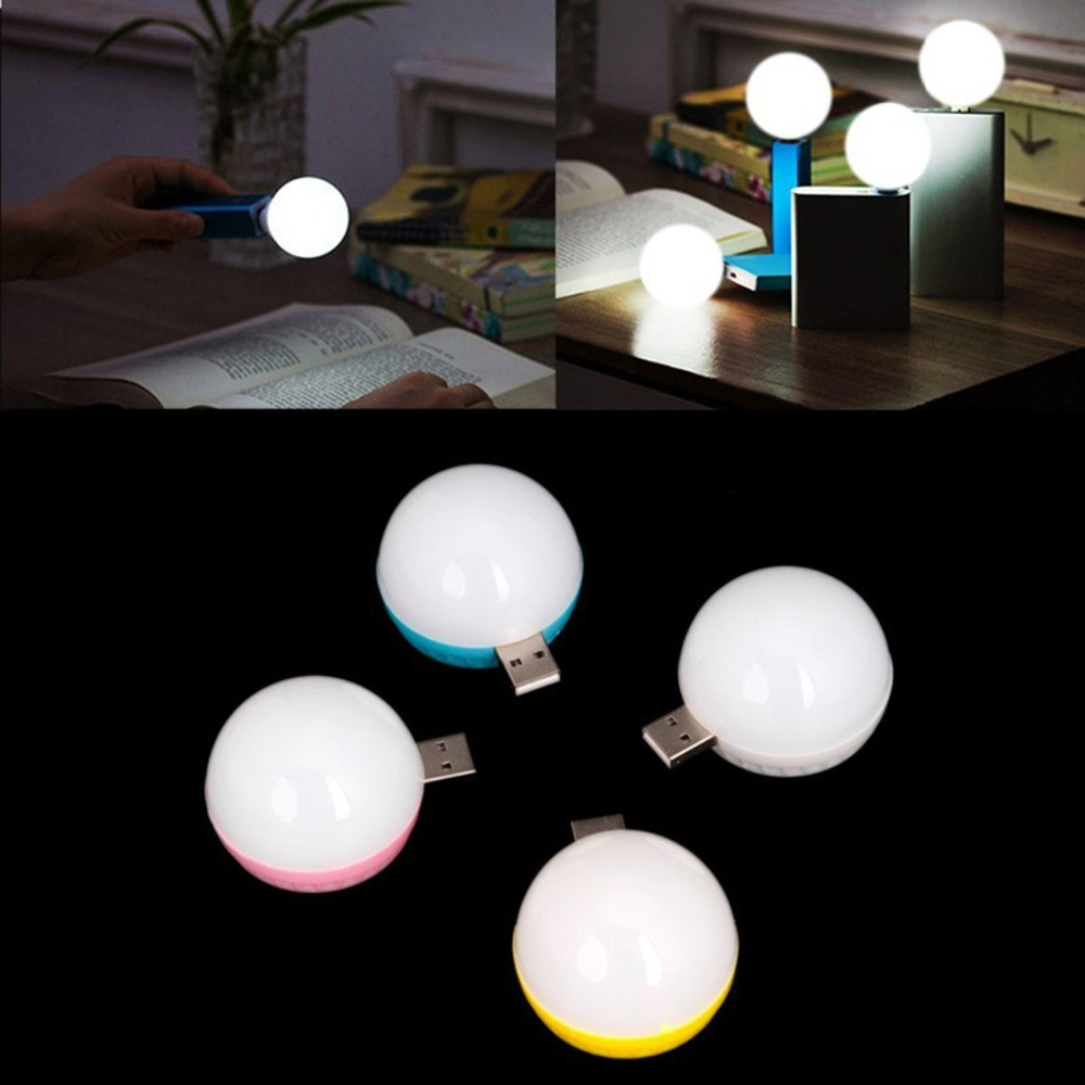 E-SMARTER Mini USB LED Light Bulb Computer Lamp For Notebook PC Laptop Reading Portable LED Eye Protection Travel Reading Lamp