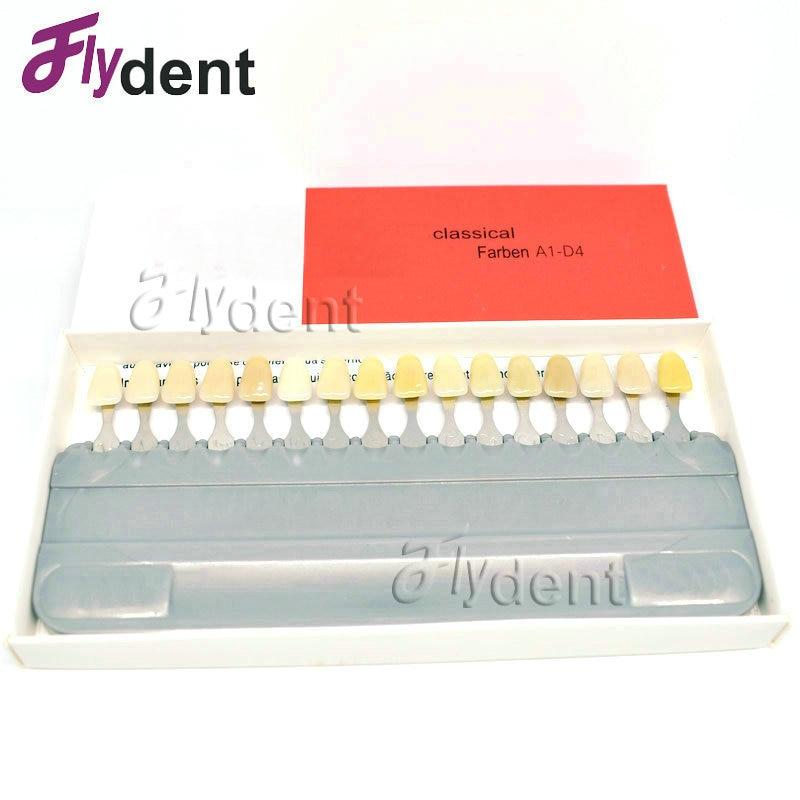 Dental material vita tooth color model