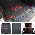 Nueva 3D Carga Organizador Del Tronco Estera Bandeja de Aguanieve Floor Mat Esteras de la Alfombra De Goma forro de Cuero Sintético Para Jeep Renegado de Envío gratis