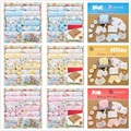 2016 hot sale 18pc/sets new style spring cotton newborn baby clothing set newborn gift infant cute clothes thicken