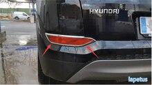 High Quality ! 2 Pcs For Hyundai Tucson 2016 ABS Rear Fog Light Lamp Cover Exterior Trim