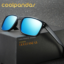 COOLPANDAS Sports Polarized Sunglasses Men/Women Brand design Sun Glasses Outdoor Eyewear with Original Box UV400 Oculos De Sol