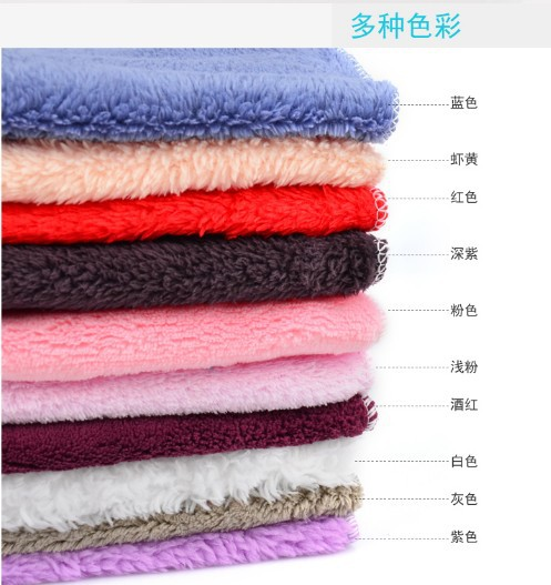 10pcs Eco-friendly  Kitchen use towel bowl car wash towel  wood fiber wiping towel facecloth in stock