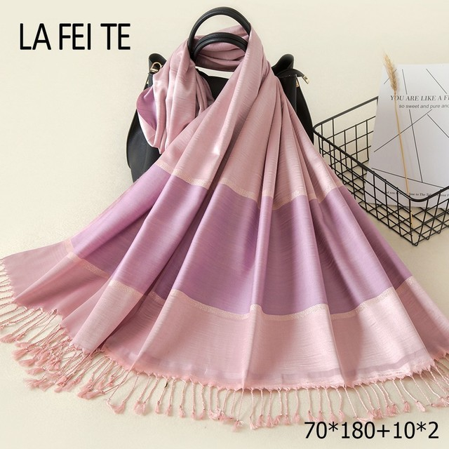 Long Cotton Scarf Women 2018 Kerchief Foulard Femme Neckerchief Hair Hijab  Shawl Stole Head Viscose Women 7ddf92c067b