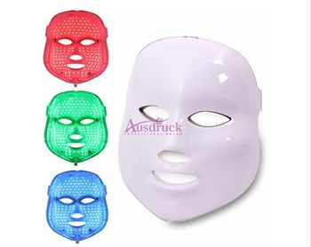 massage Face LED Photon Therapy Mask Wrinkle Acne Removal PDT fast free shipping