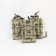 EMERSONGEAR Dual Decker Mag Pouch Airsoft Pouches Military Emerson Bag Camouflage MOLLE Holder Coyote Brown Black
