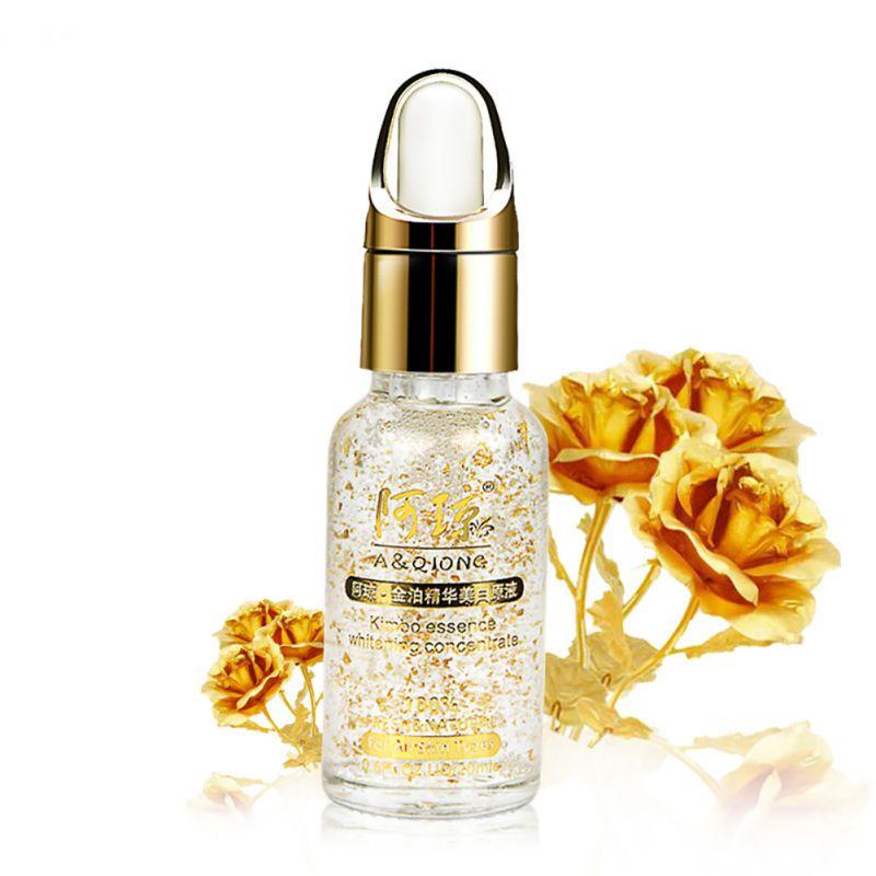 608 24k zlatá fólie proti stárnutí kyselina hyaluronová tekutý - Péče o kůži