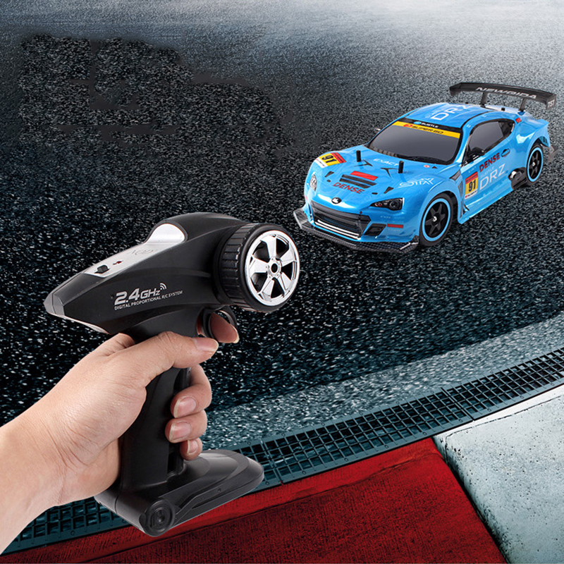 2.4G 40KM/H 4WD High Speed Race RC Car Toys Drift Cars Remote Control Outdoors RC Toys for Children Gifts-in RC Cars from Toys & Hobbies    2